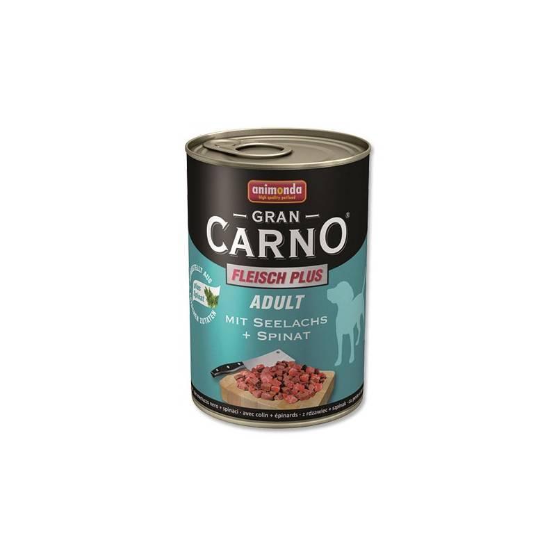 Konzerva Animonda Adult Gran Carno mořský losos + špenát 400g