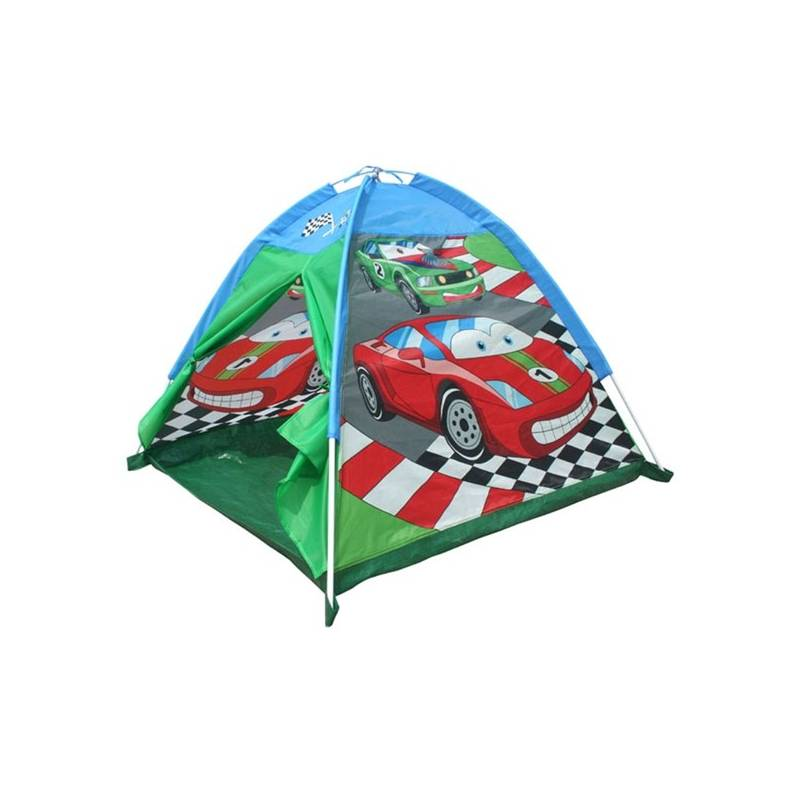 Stan detský Acra ST09 s potiskem - auta červený/modrý/zelený