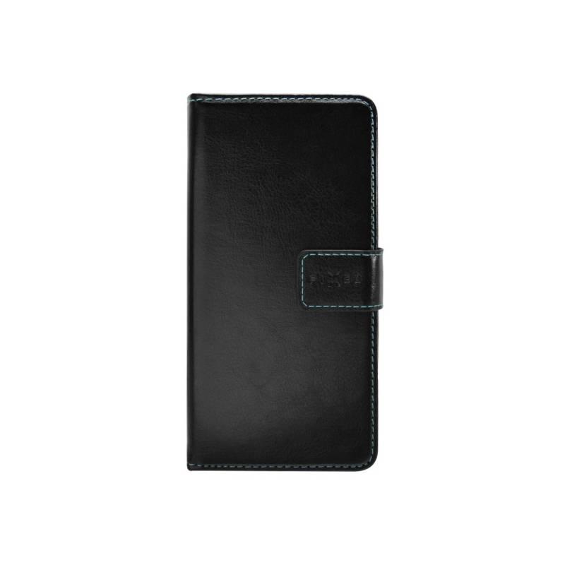 Puzdro na mobil flipové FIXED Opus pro Sony Xperia XA1 (FIXOP-199-BK) čierne