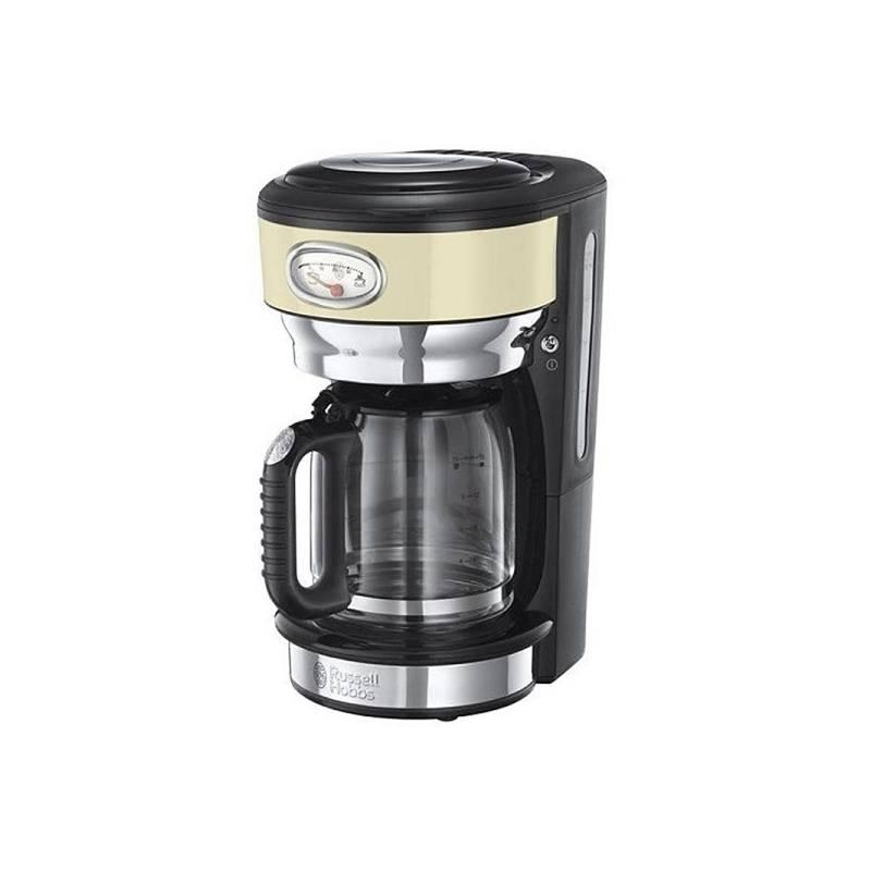 Kávovar RUSSELL HOBBS RETRO 21702-56 krémový