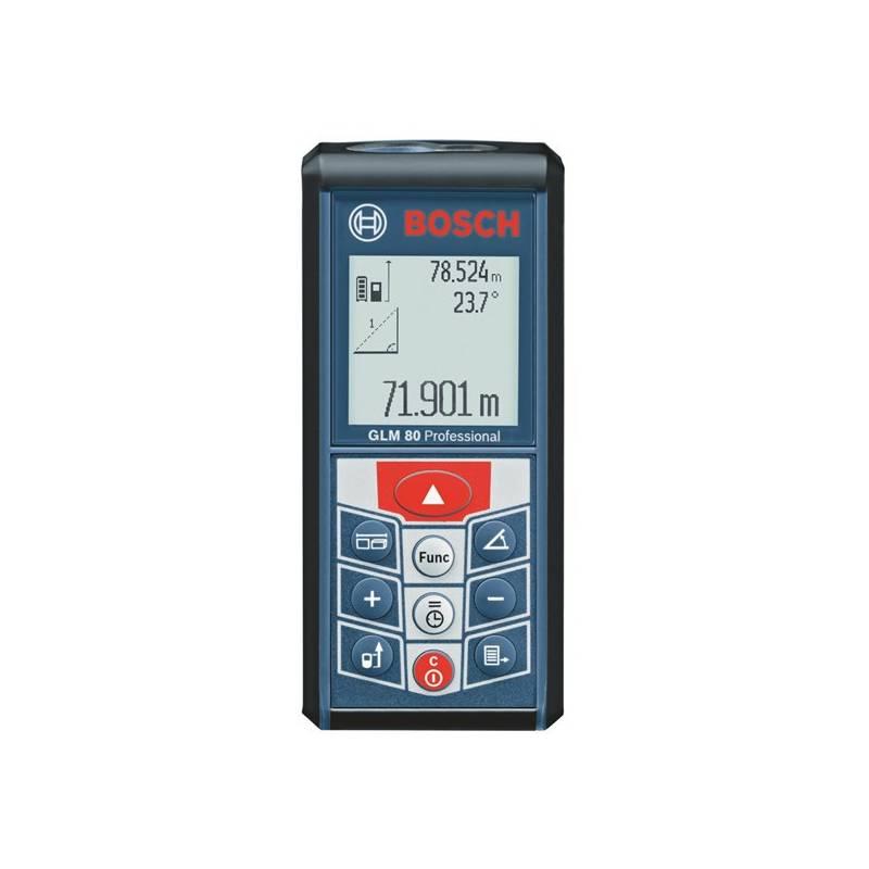 Laserový dálkomer Bosch GLM 80 Professional, 0601072300