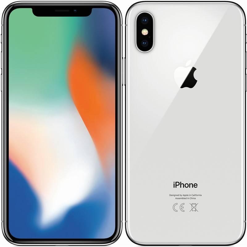 Mobilný telefón Apple iPhone X 64 GB - Silver (MQAD2CN/A) + Doprava zadarmo