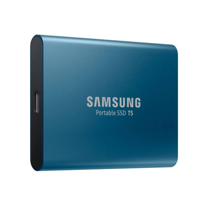 SSD externý Samsung T5 250GB (MU-PA250B/EU) modrý