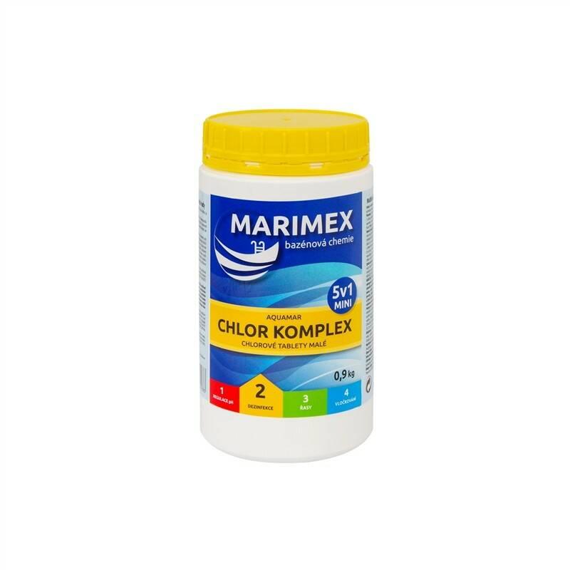 Bazénová chemie Marimex Chlor Komplex Mini 5v1 0,9 kg