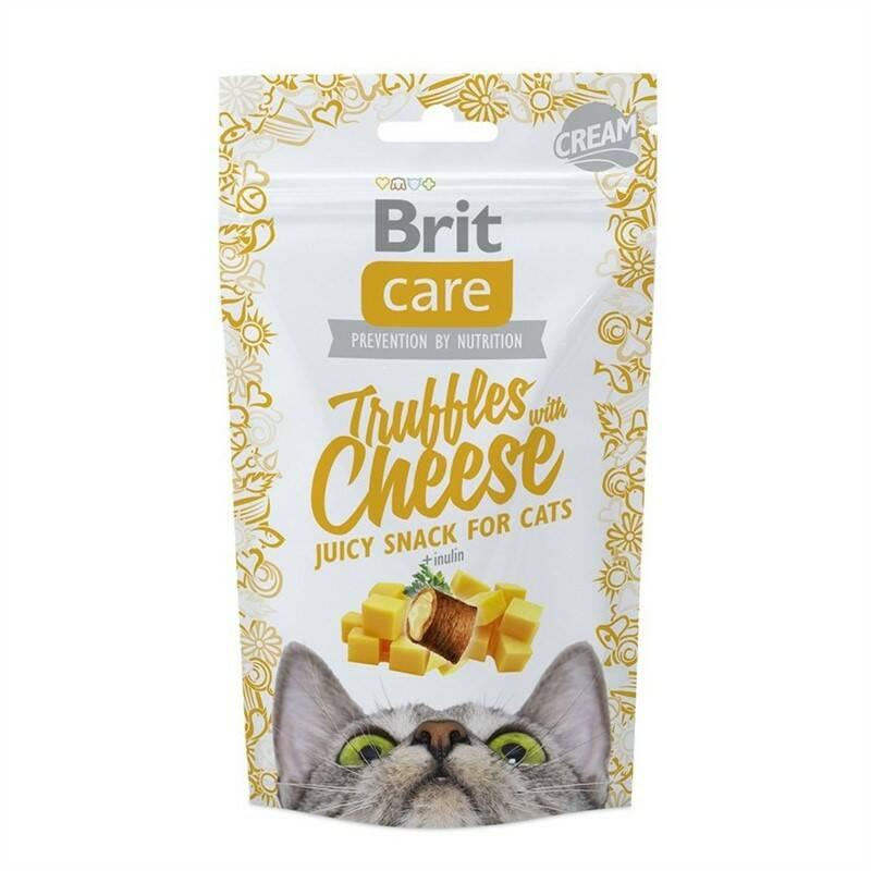 Pochúťka Brit Care Cat Snack Truffles Cheese 50g