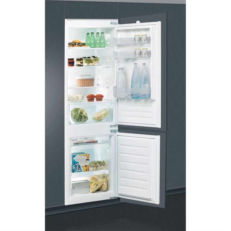 Kombinácia chladničky s mrazničkou Indesit B 18 A2 D/I + Doprava zadarmo