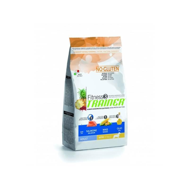 Granule Trainer Fitness Adult Mini Losos a kukuřice 2 kg