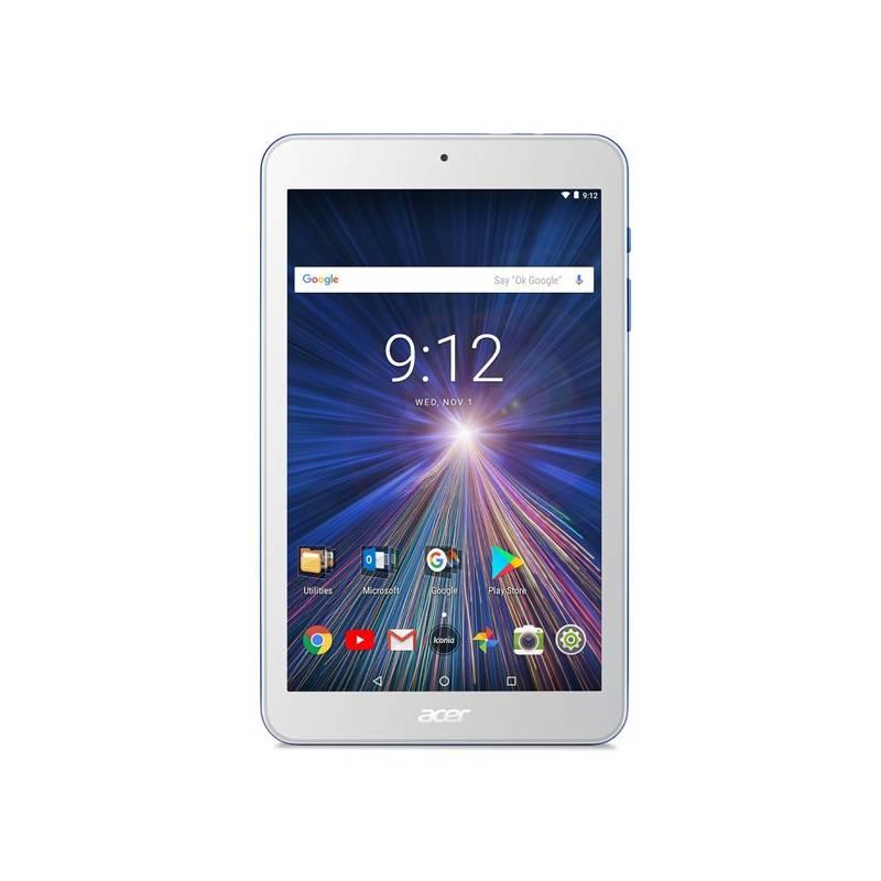 Dotykový tablet Acer Iconia One 8 (B1-870-K6VH) (NT.LEUEE.002) bílý/modrý