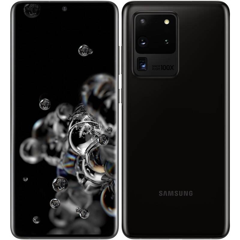Mobilný telefón Samsung Galaxy S20 Ultra 5G (SM-G988BZKDEUE) čierny + Doprava zadarmo