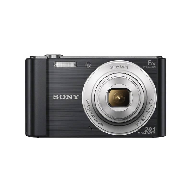 Digitálny fotoaparát Sony Cyber-shot DSC-W810B čierny
