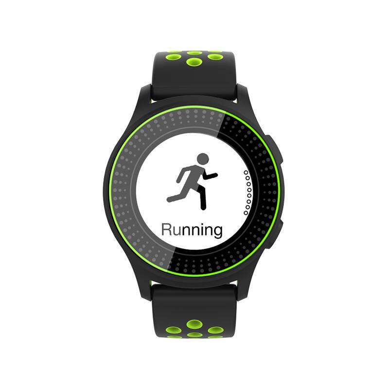 Chytré hodinky iGET ACTIVE A2 (84000431) zelený
