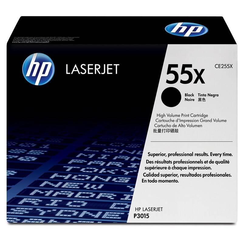 Toner HP 55X, 13 000 stran (CE255X) čierny + Doprava zadarmo