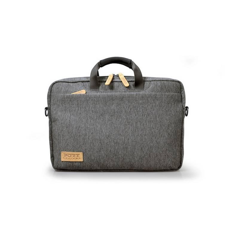 Brašna na notebook PORT DESIGNS Torino Toploading pro 13,3'' (140400) sivá