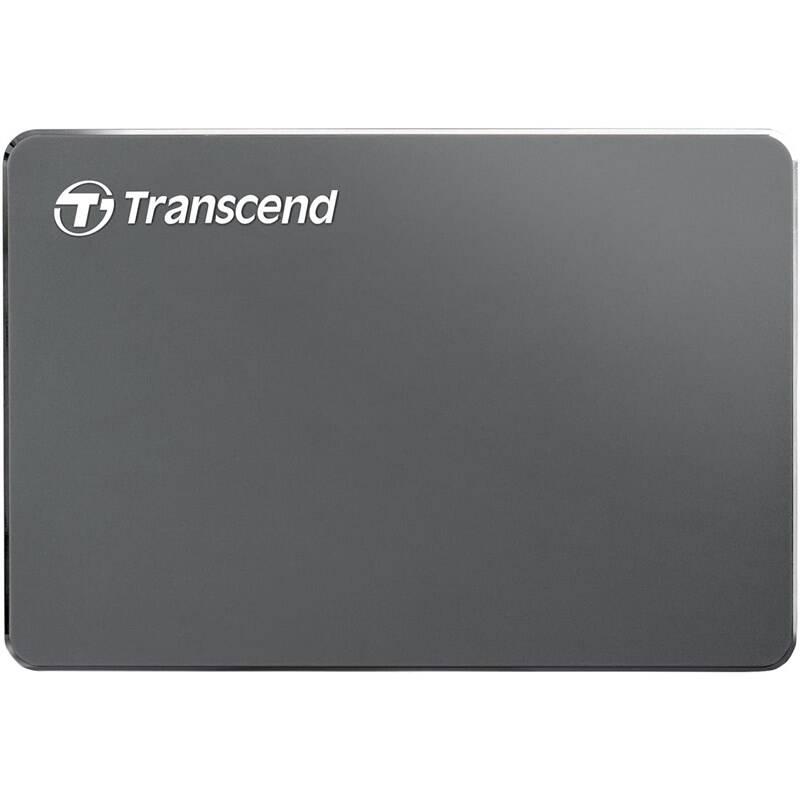 Externý pevný disk Transcend StoreJet 25C3N 2TB, USB 3.0 (3.1 Gen 1) (TS2TSJ25C3N) sivý