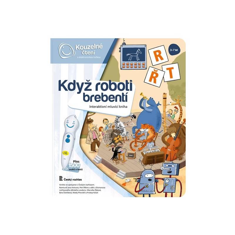 Kúzelné čítanie Albi Kniha Když roboti brebentí