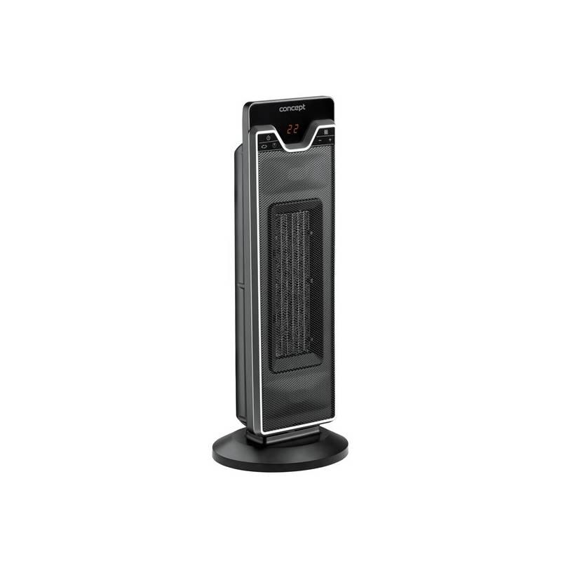 Teplovzdušný ventilátor Concept VT-8020 čierny + Doprava zadarmo