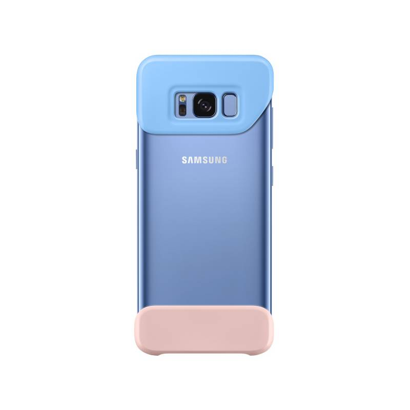 Kryt na mobil Samsung 2 dílný pro Galaxy S8+ (EF-MG955C) (EF-MG955CLEGWW) modrý/ružový