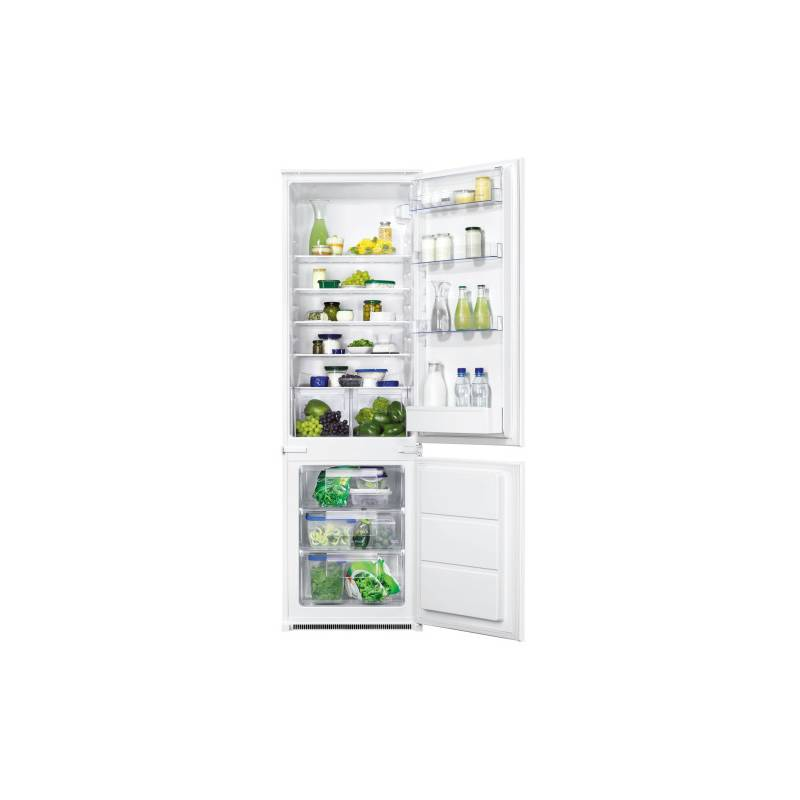 Kombinácia chladničky s mrazničkou Zanussi ZBB28441SA + Doprava zadarmo