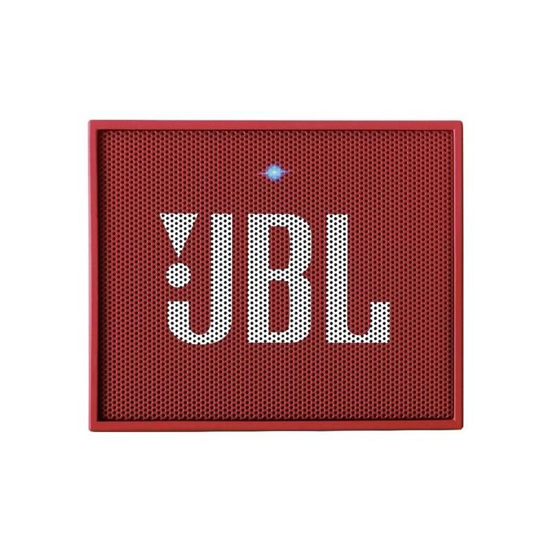 Prenosný reproduktor JBL GO červený