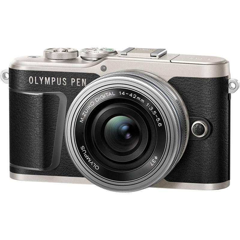 Digitální fotoaparát Olympus PEN E-PL9 + 14-42 EZ Pancake černý