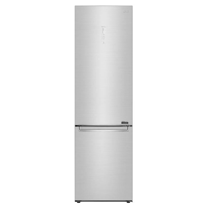 Chladnička s mrazničkou LG GBB92STAQP nerez + LG 10 let záruka na Lineární kompresor