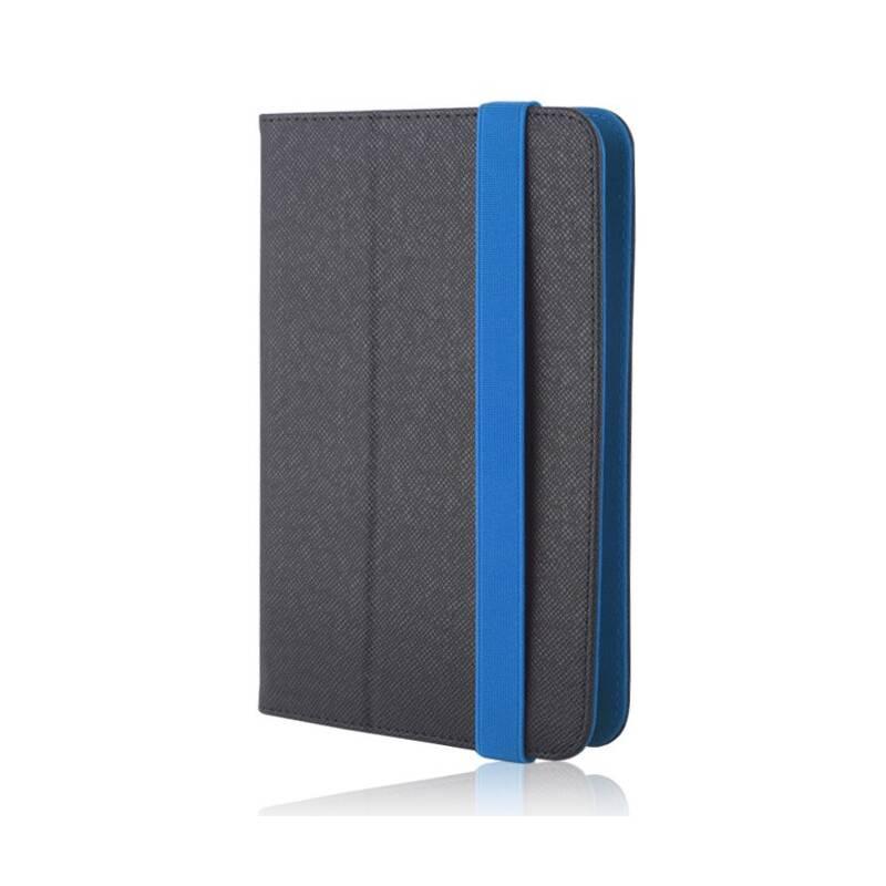 """Púzdro na tablet flipové GreenGo Orbi na tablet 7-8"""" (LCSUNI78OBIBL) čierne/modré"""