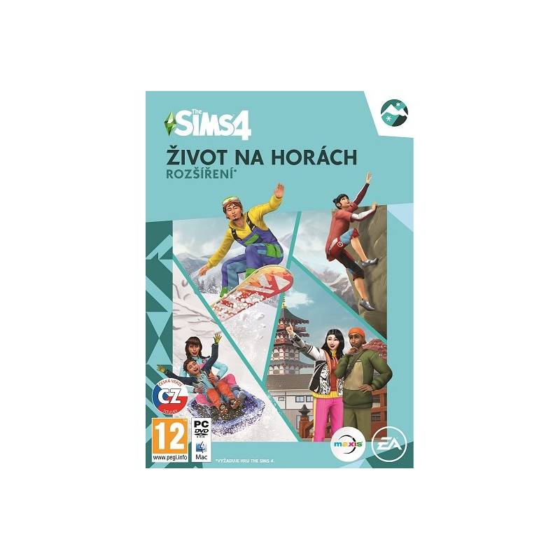 Hra EA PC The Sims 4 Život Na Horách (EAPC05172)