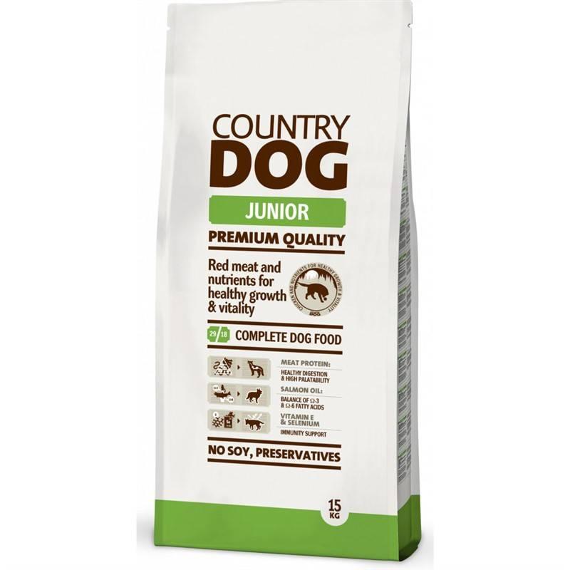 Granule Country Dog Junior 15kg
