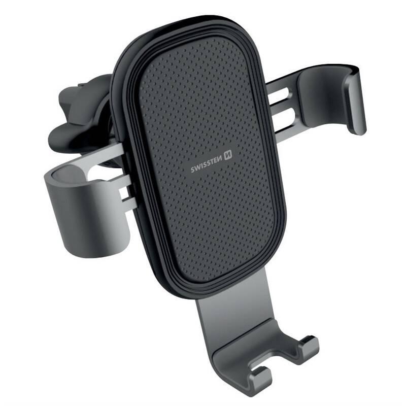 Držiak na mobil Swissten S-Grip G1-AV3, do mřížky (65010602) čierny