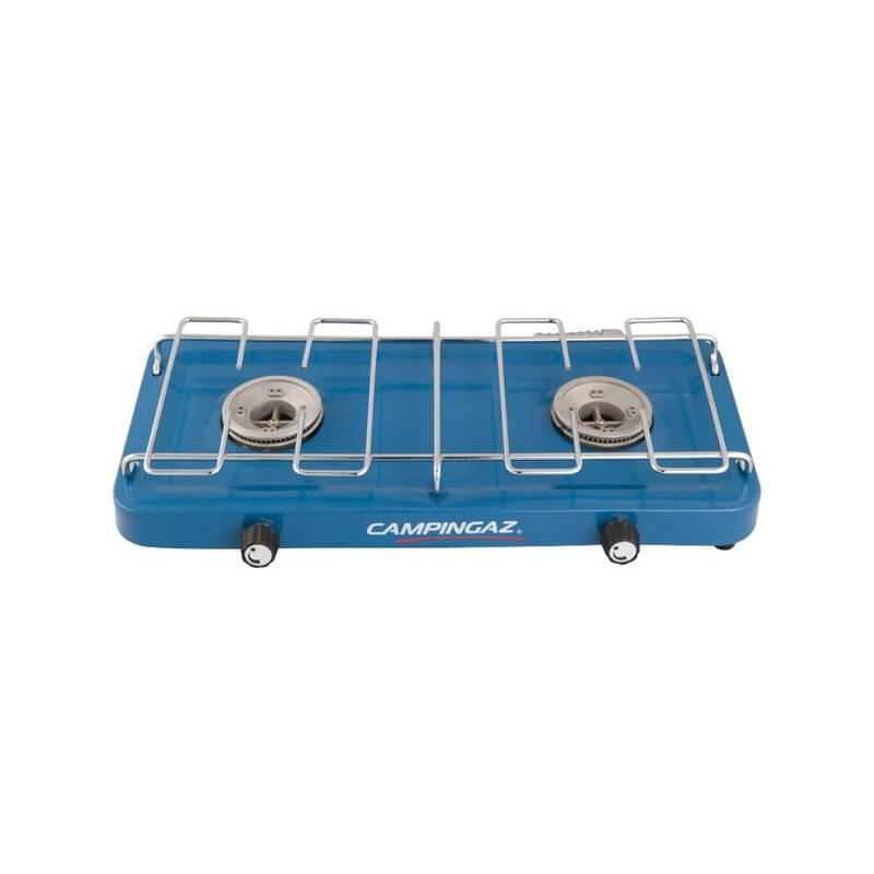 Varič Campingaz plynový Campingaz BASE CAMP™ (dvouplotýnkový vařič na PB lahve), výkon 2x1600 W, hmotnost 1,4 kg + Doprava zadarmo
