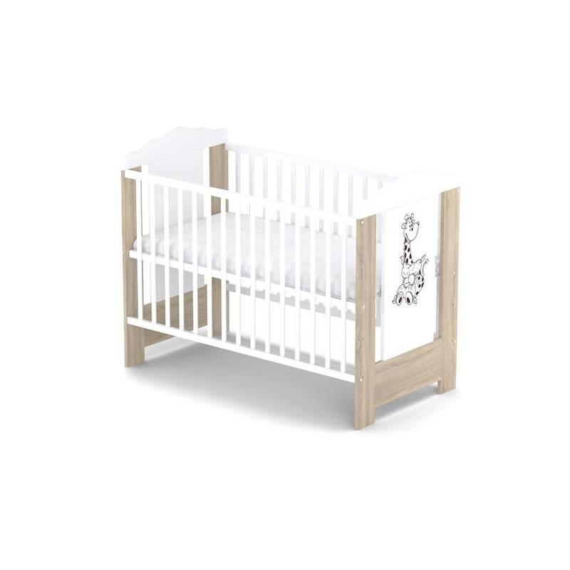 Postieľka detská drevená Baby Sky ELLA 110 dub
