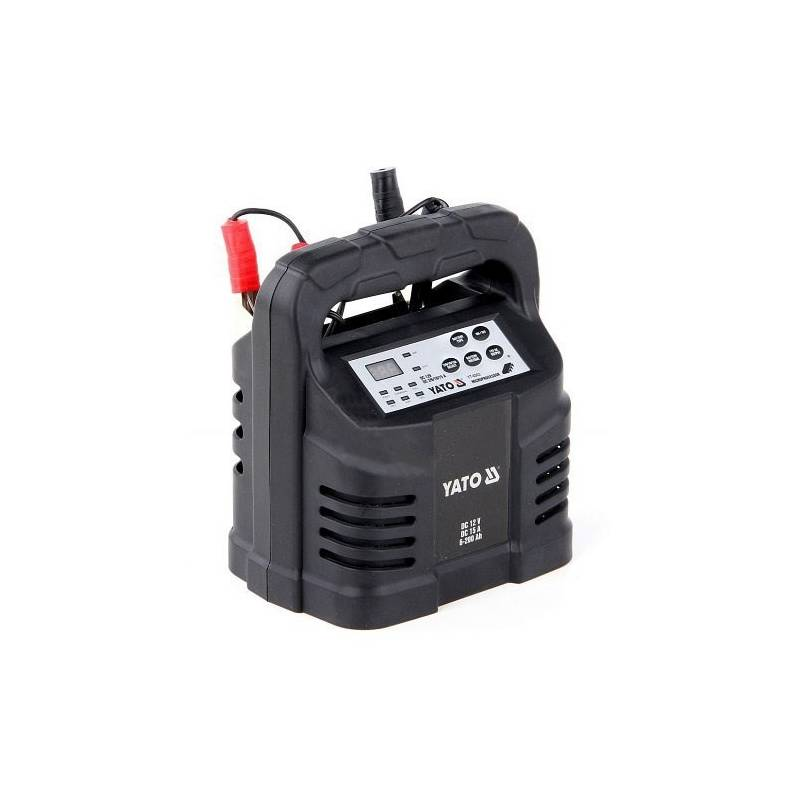 Nabíjačka autobatérií YATO 15A 12V gel/procesor + Doprava zadarmo
