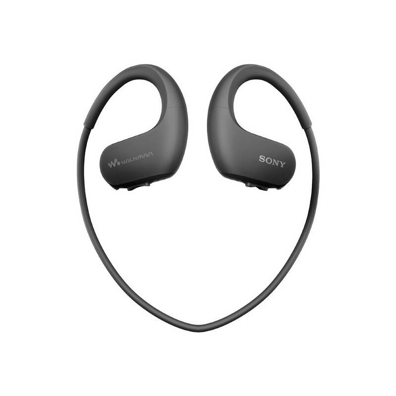 MP3 přehrávač Sony NW-WS413B černý