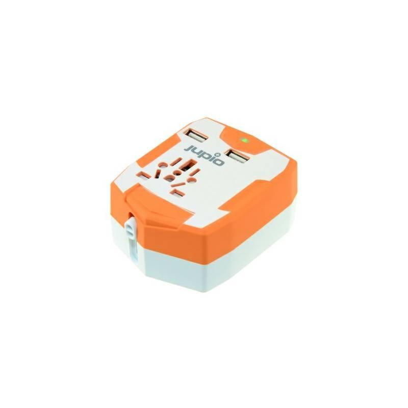 Cestovní adaptér Jupio PowerVault 6000 Travel Adapter (448386)