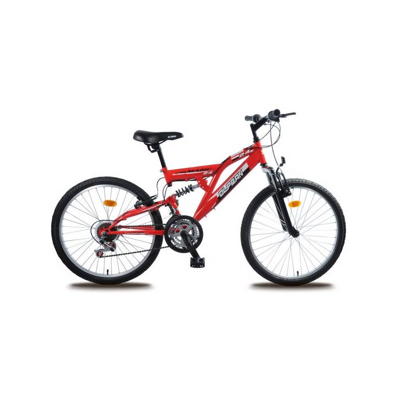 Detský bicykel Olpran Magic 24' červený