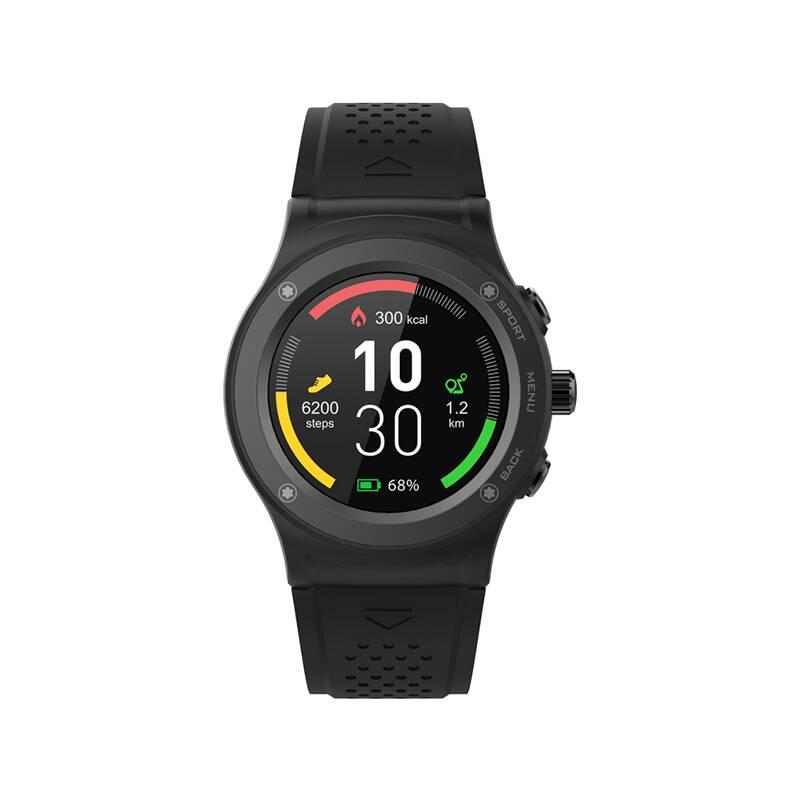 Chytré hodinky iGET ACTIVE A6 (84000433) černý