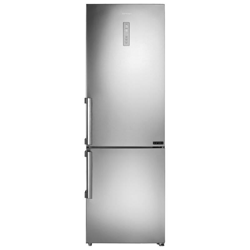 Kombinácia chladničky s mrazničkou Concept LK5460SS + Extra zľava 10 % | kód 10HOR2020 + Doprava zadarmo