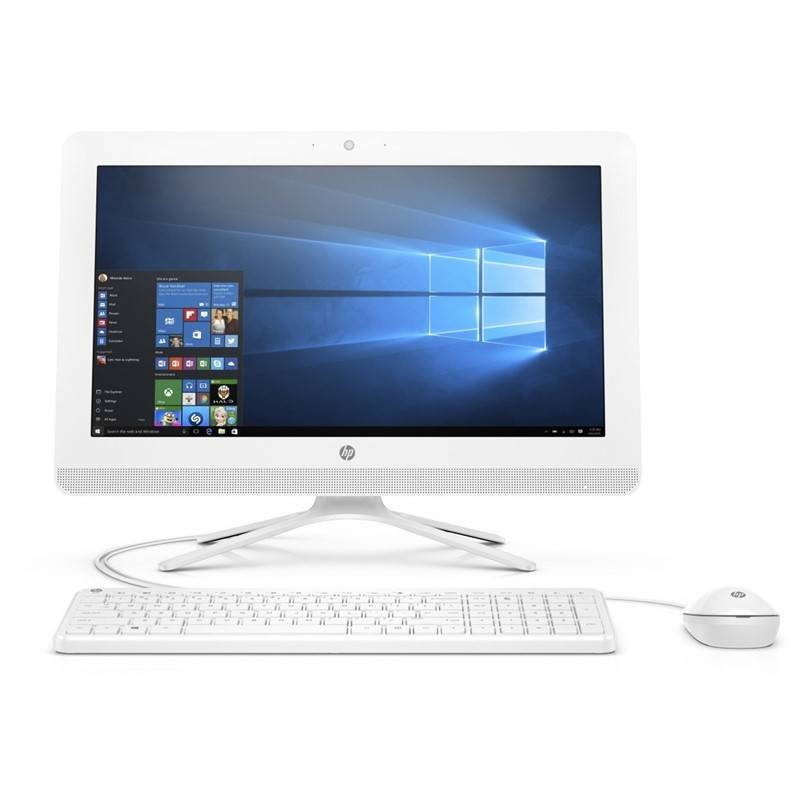 PC all in-one HP 20-c412nc (8KS49EA#BCM) biely