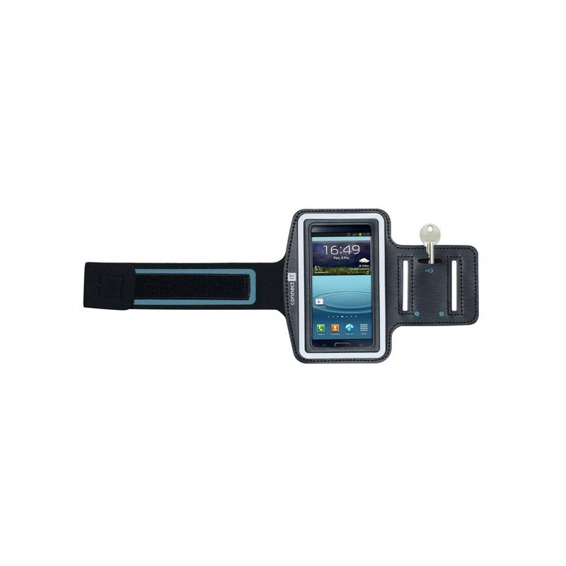 Puzdro na mobil športové Connect IT pro Galaxy S4 (CI-213) čierne