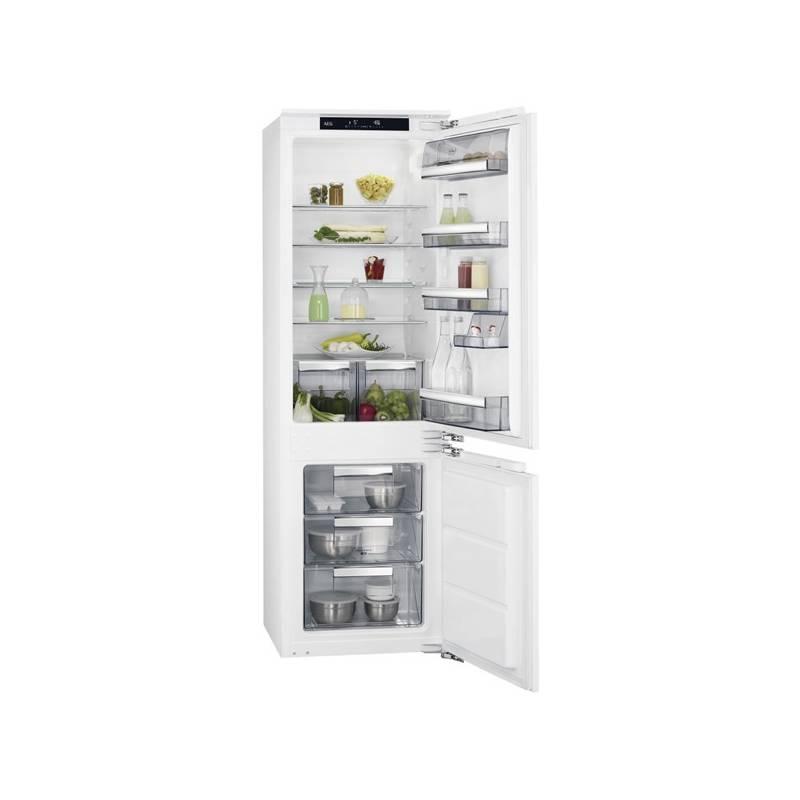Kombinácia chladničky s mrazničkou AEG Mastery SCE81811LC + Doprava zadarmo