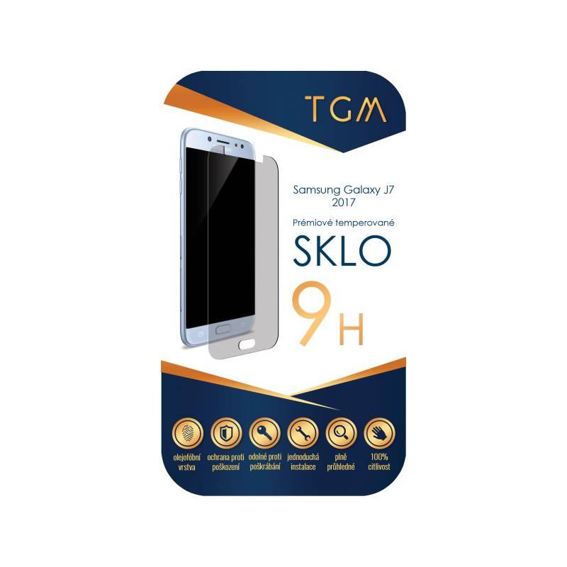 Ochranné sklo TGM pro Samsung Galaxy J7 (2017) (TGM-SM-J72017) priehľadné