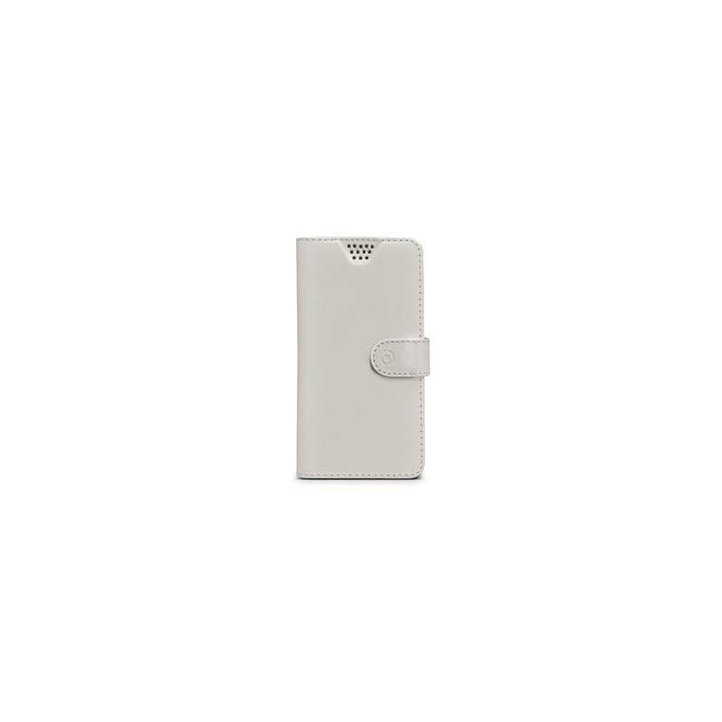 "Pouzdro na mobil flipové Celly Wally Unica, L, 4"" - 4.5"" (WALLYUNILWH) bílé"