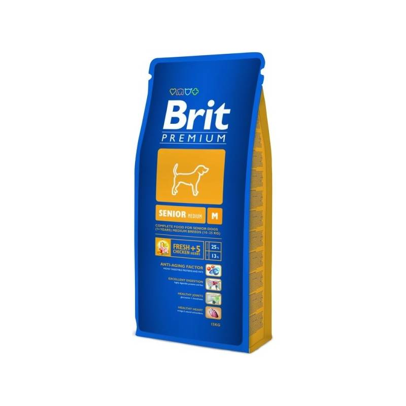 Granule Brit Premium Dog Senior M 15 kg