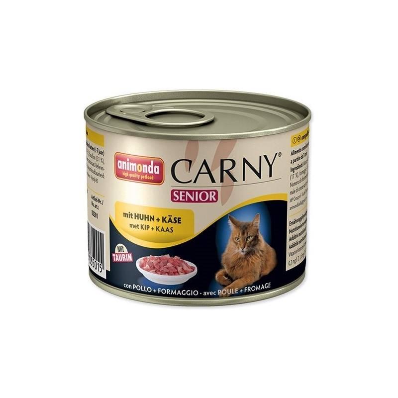 Konzerva Animonda Carny Senior kuře + sýr 200g