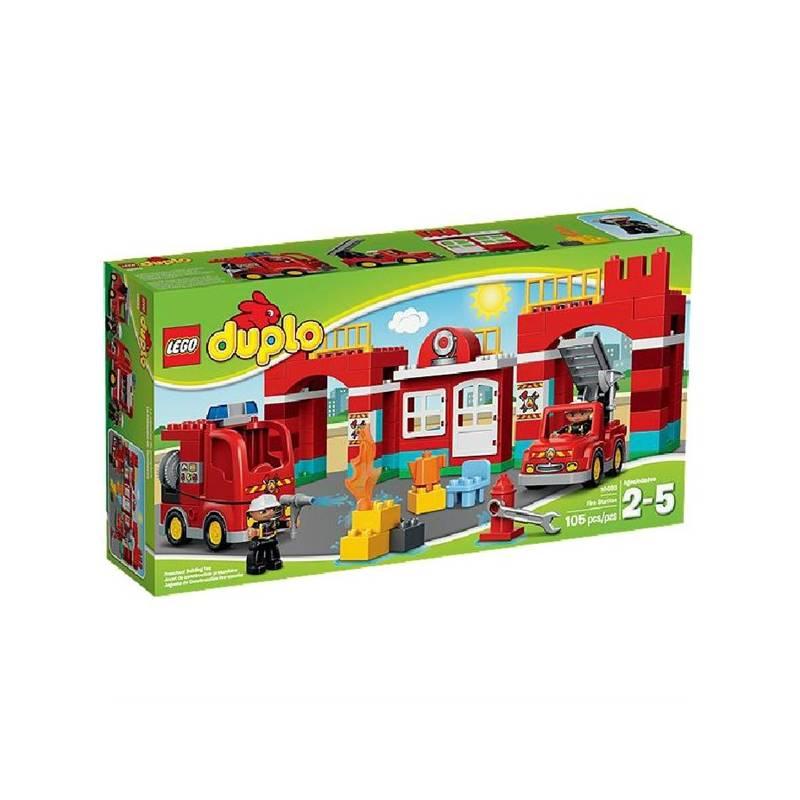 Zestawy LEGO® DUPLO® DUPLO Ville 10593 Remiza strażacka   EUKASA.pl