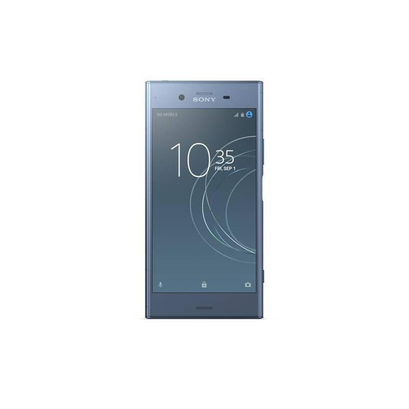 Mobilný telefón Sony Xperia XZ1 Dual SIM (G8342) (1310-7159) modrý Software F-Secure SAFE, 3 zařízení / 6 měsíců (zdarma)Sluchátka Sony MDR-XB70BT (zdarma)