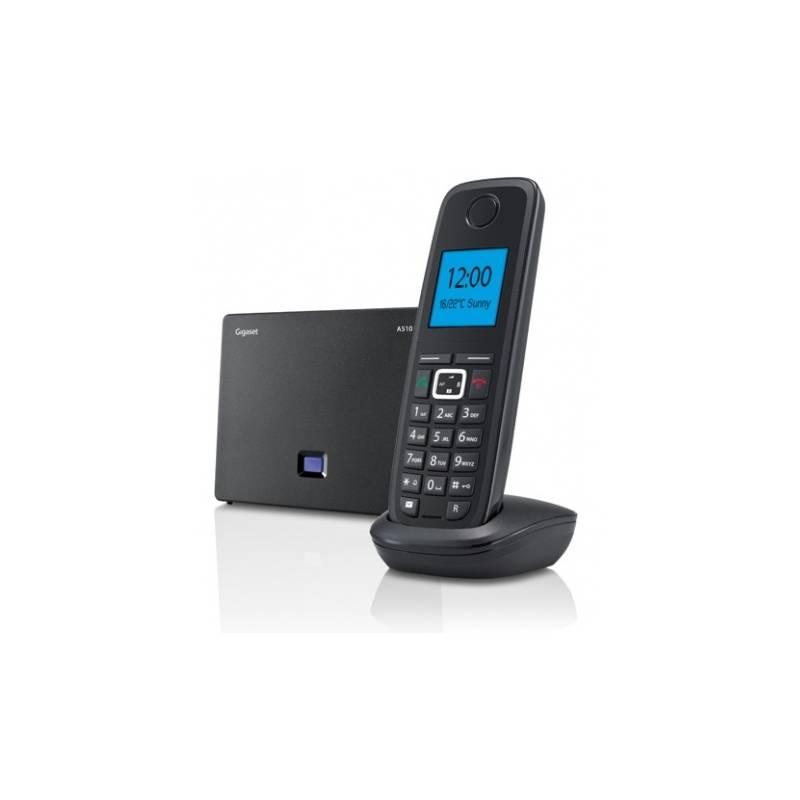 Domáci telefón Siemens Gigaset A510 IP čierny