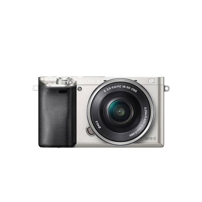 Digitálny fotoaparát Sony Alpha A6000 + 16-50mm strieborný + Doprava zadarmo
