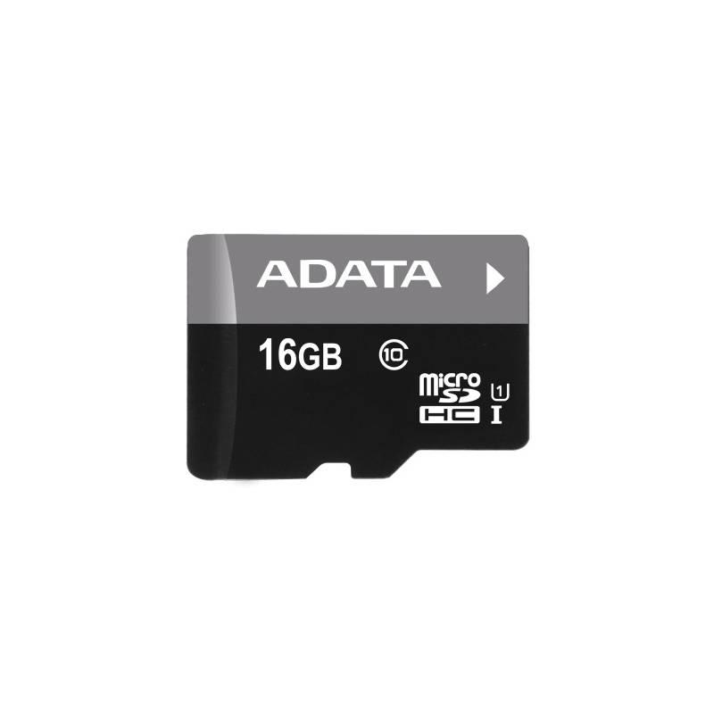 Pamäťová karta ADATA 16GB Class 10 UHS-U1 (50R/10W) + čtečka MicroReader Ver.3 (AUSDH16GUICL10-RM3BKBL) čierna