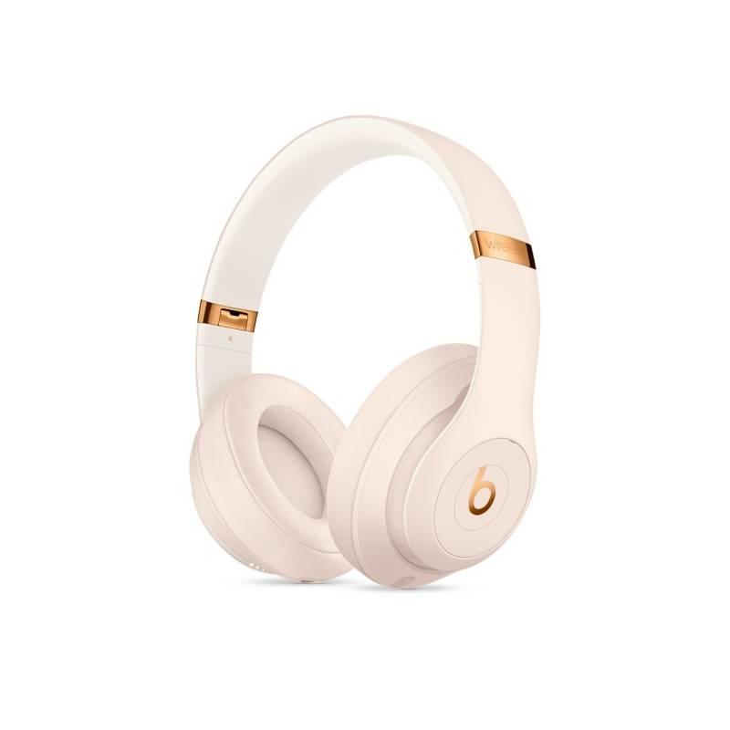 Slúchadlá Beats Studio3 Wireless - porcelánově růžová (MQUG2ZM/A)